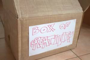box of creativity